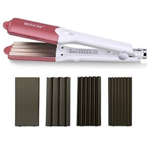 Dshow Interchangeable 4-in-1 Hair Crimper Iron for sale